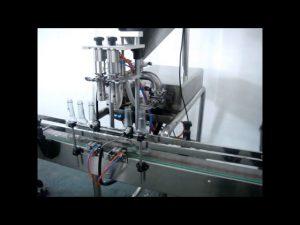 автоматическая машина для наполнения жидкостей с двойной головкой для продажи
