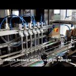 автоматическая 6-ти головная дозирующая линия для наполнения жидким хлором