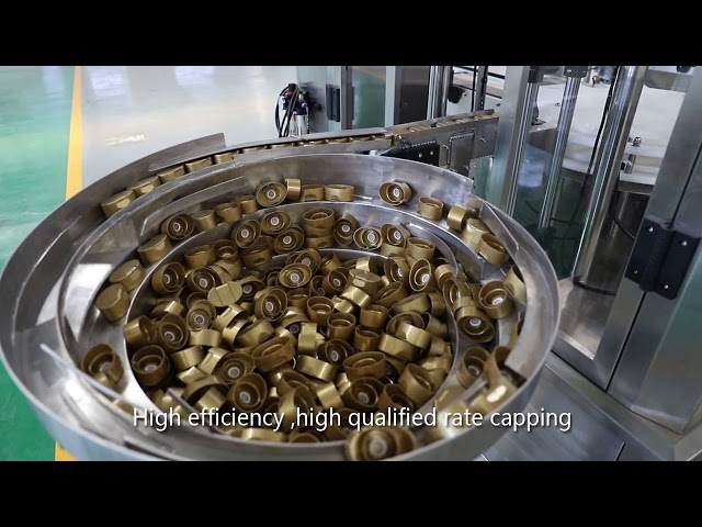 автоматическая сервопоршневая подливка, мёд, джем, линия высоковязкой жидкости
