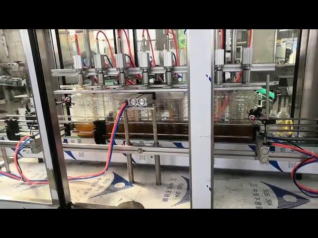 автоматическая машина для наполнения моторного масла