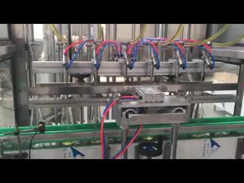 автоматическая разливочная машина для укупорки масла, мёда, джема, шампуня