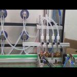 автоматическая машина завалки бутылки 10ml 30ml 60ml 100ml косметическая для жидкостей