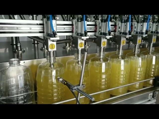 автоматическая перистальтическая машина для наполнения смазочного масла