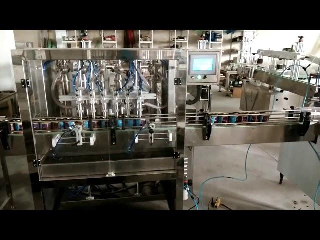 автоматическая машина для наполнения арахисового масла