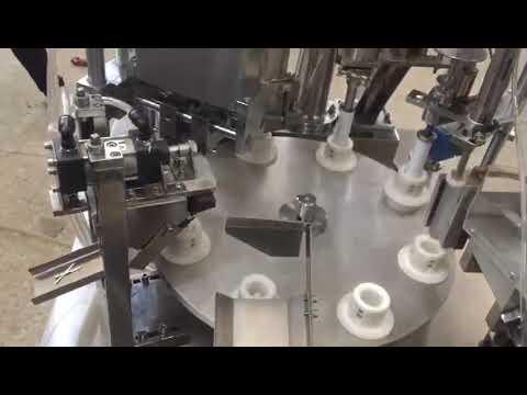 автоматическая мягкая пластиковая паста, мазь, зубная паста, машина для наполнения тюбиков