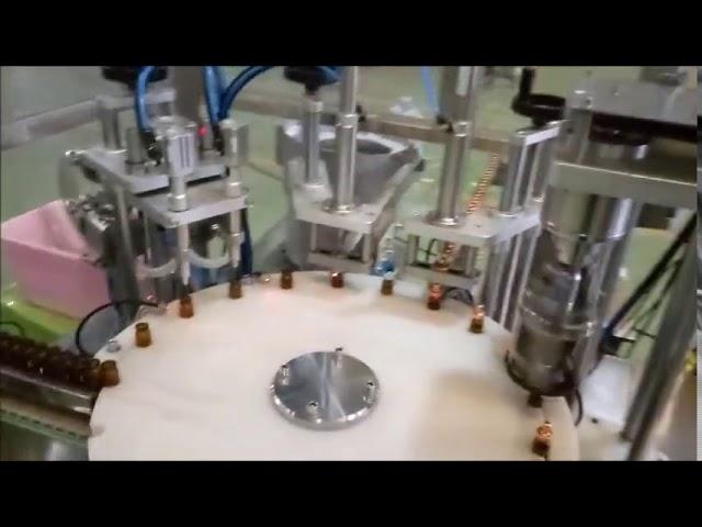 автоматическая машина для наполнения бутылок с жидкостью 10 мл