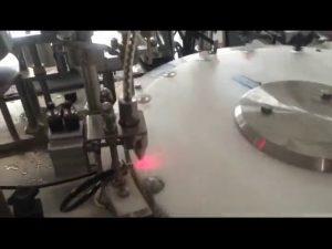 автоматическая машина завалки бутылки лака для ногтей 30-50 ударов в минуту