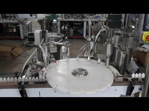 автоматическая машина для наполнения глазных капель, машина для наполнения и запечатывания бутылочек