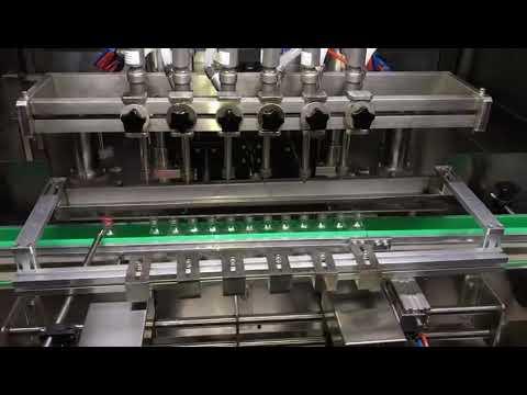 автоматическая машина для наполнения и дезинфекции спирта для ежедневной химической промышленности