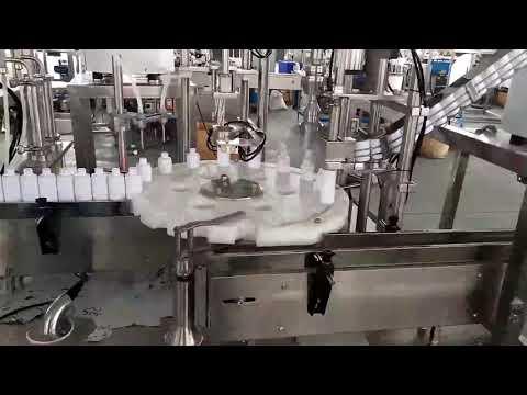 Машина для наполнения пластиковых бутылок косметики