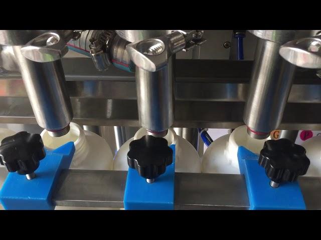 цена машины завалки бутылки польностью автоматического поршеня шампуня жидкостная