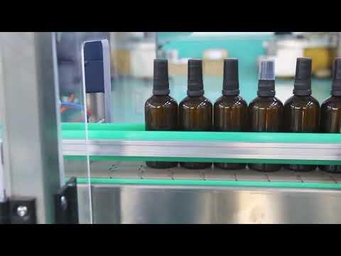 машина завалки бутылки масла cbd платформы нержавеющей стали мотора высокой точности