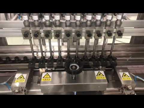 Линейная разливочная машина для жидких алкогольных сливок, наполнитель масла для бутылочек с медом
