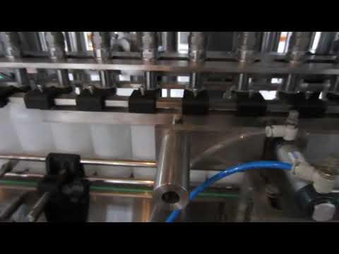 автоматическая машина для наполнения жидких моющих и дезинфицирующих средств