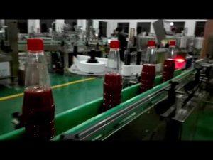 высокоскоростная автоматическая машина для розлива в бутылки кетчупа, джема, соуса