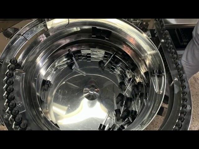 механическая ручная машина для розлива и укупорки бутылок cbd