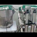 Глазная капля 15мл 30мл, укупорочная машина бутылки капельницы масла КБД стеклянная