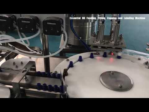 разливочная машина для стеклянных бутылок, косметический наполнитель лосьона
