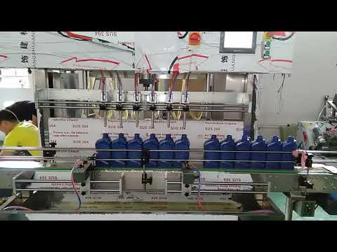 машина завалки моторного масла смазки фарфора автоматическая 5000ml для индустрии автомобиля