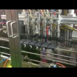 машина заполнителя оливкового масла поршеня управлением plc автоматическая