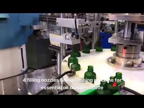 машина завалки масла cbd бутылки капельницы эфирная