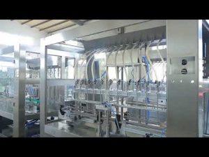 машина завалки опарника бутылки пищевого масла фабрики автоматическая линейная вязкая жидкостная