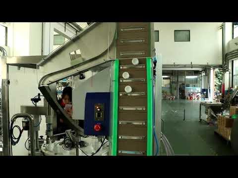 автоматическая медицинская дезинфицирующая жидкость, паста, разливочная машина